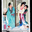 CHIN- CIRC1983: Stamp printed in Chinshows famous love story Romance of West Chamber, circ1983 — Stock Photo #11710794