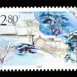 CHINA - CIRCA 2000: A Stamp printed in China shows Taiqing Temple of Laoshan , circa 2000 — Stock Photo