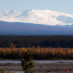 Mount Wrangell — Stock Photo