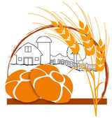 Logo bakery — Stock Vector