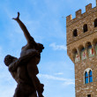 Stock Photo: Florence statue and tower