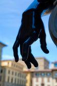 Statyn hand detalj — Stockfoto