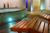 Spa relax room — Stock Photo