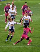Rugby Bojrn Basson Gerhard van den Heever South Africa 2012 — Foto de Stock