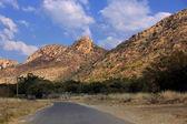 Tar grandes montañas road — Foto de Stock