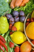 Best Fruit & Vegetables Picture — Stock Photo