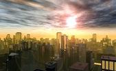 современный город — Стоковое фото