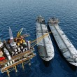Oil production — Stock Photo #11392268