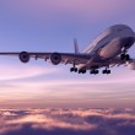 A passenger plane — Stock Photo #12320220