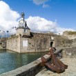Concarneau in brittany — Stock Photo