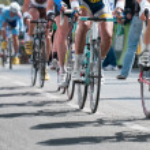 Cycling professional race — Stock Photo