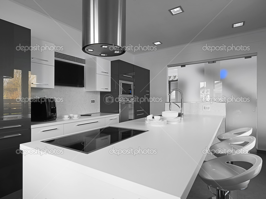 Moderne keuken — Stockfoto © aaphotograph #11622101