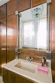 современные мало bahtroom — Стоковое фото