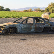 Burned Out Car — Stock Photo #11369409