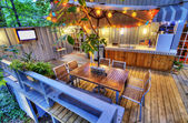 Nice Patio — Stock Photo
