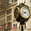 Stock Photo: ManhattStreet Scene