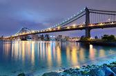 Manhattan Bridge Bridge — Stock Photo