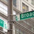 Broadway and 42nd Street — Stock Photo