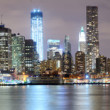 Downtown new york stad — Stockfoto