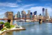 New York City Skyline — Foto de Stock