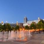 Centennial Olympic Park — Stock Photo