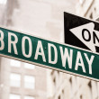 Stock Photo: Broadway