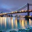 Manhattan Bridge Bridge — Stock Photo