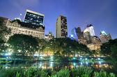中央公园 — 图库照片
