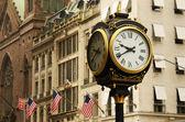 Manhattan straatbeeld — Stockfoto