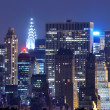 Midtown ManhattSkyline — Stockfoto #11112291
