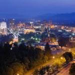 Asheville Skyline — Stock Photo