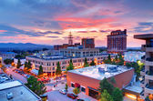 Centrum miasta asheville — Zdjęcie stockowe
