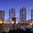 Stock Photo: Harlem High Rises