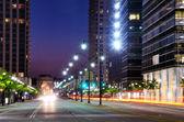 Atlanta-straßenszene — Stockfoto