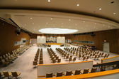 United Nations Security Council Chamber — Stock Photo