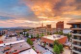 центр города asheville — Стоковое фото