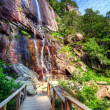 Hickory Nut Falls - Stock Photo