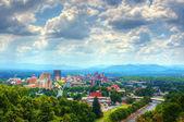 Asheville στον ορίζοντα — Φωτογραφία Αρχείου