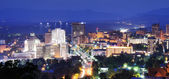Asheville Skyline — Stock Photo