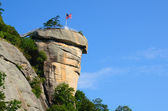 Chimney rock — Stockfoto