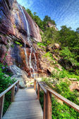 Hickory Nut Falls — Stock Photo