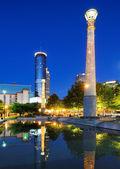Parque olímpico centennial — Foto de Stock