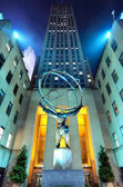 Atlas at Rockefeller Center — Stock Photo