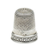 Vintage thimble — Stock Photo