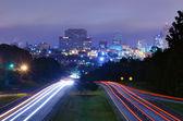 Columbia, South Carolina Skyline — Stock Photo