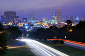Columbia, carolina do sul skyline — Foto Stock