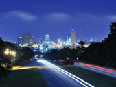 Columbia, South Carolina Skyline — Stock Photo