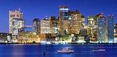 Downtown Boston Panorama — Stok fotoğraf