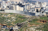 Israel West Bank Barrier — Stock Photo