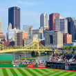 PNC Park and Downtown PIttsburgh — Stock Photo #12207006